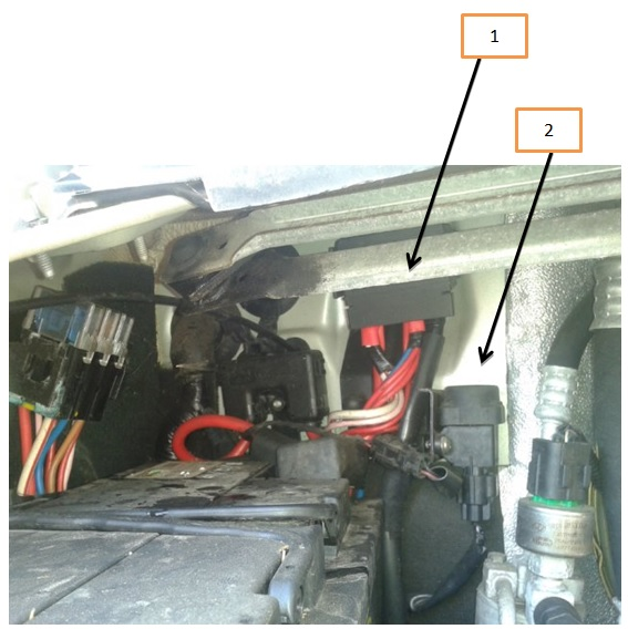 Split charge relay location on ducato jtd timberland